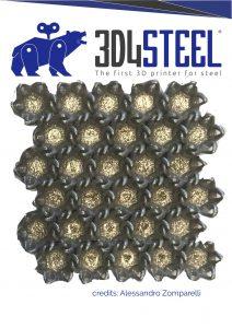 3D4STEEL - stampa 3d - metodi additivi - acciaio