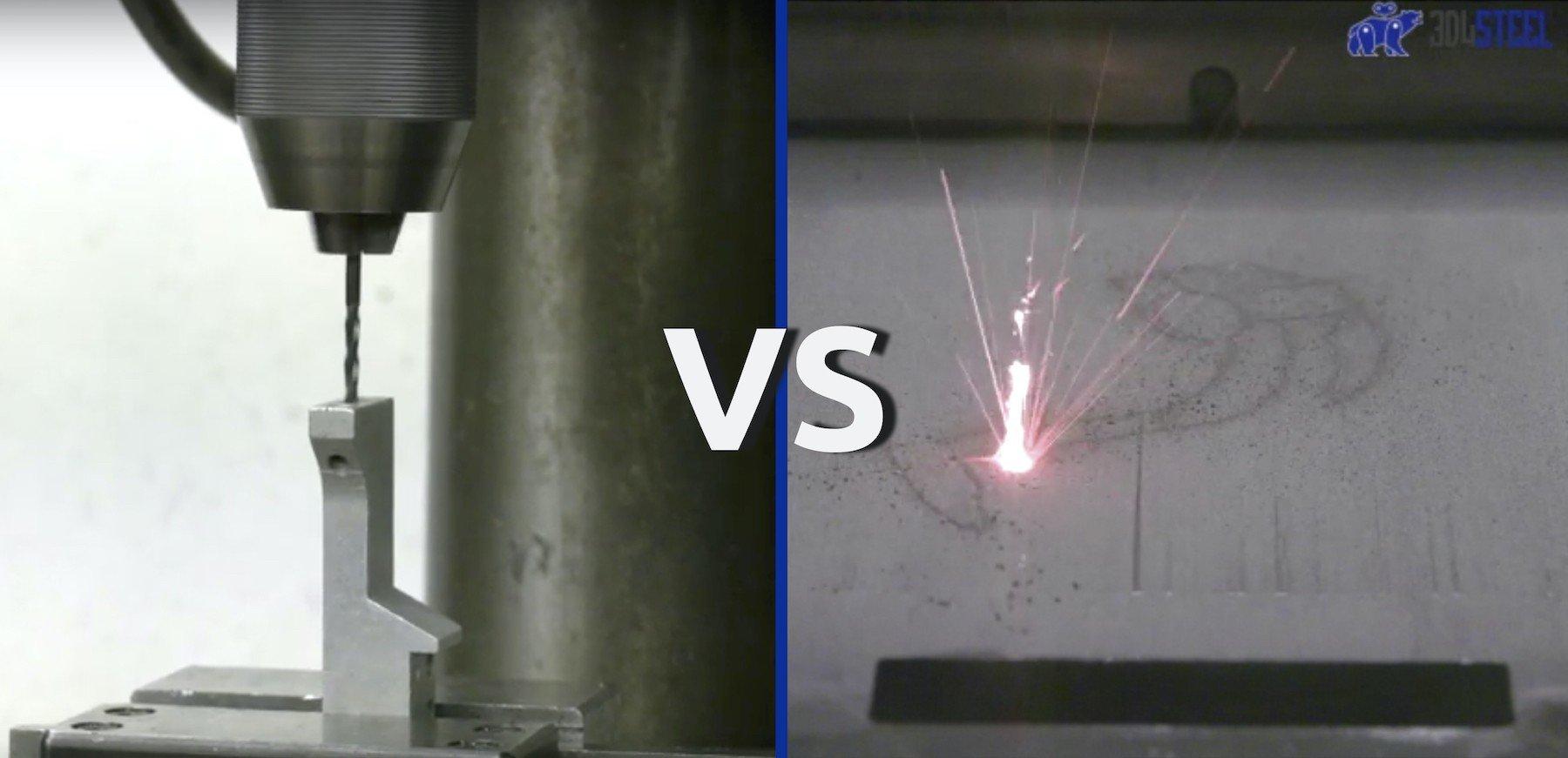 Componenti meccanici in acciaio: cosa cambia dai metodi tradizionali, alla stampa 3D?